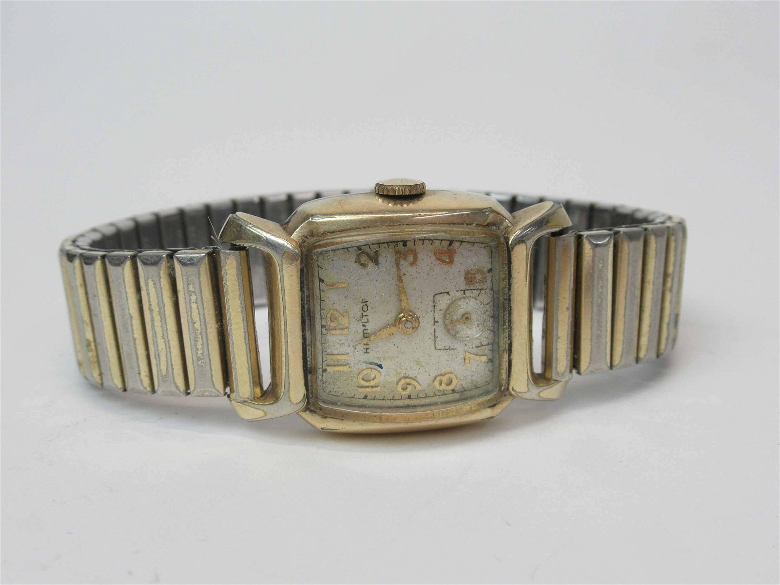 Vintage Hamilton 10K Gold Filled Wrist Watch