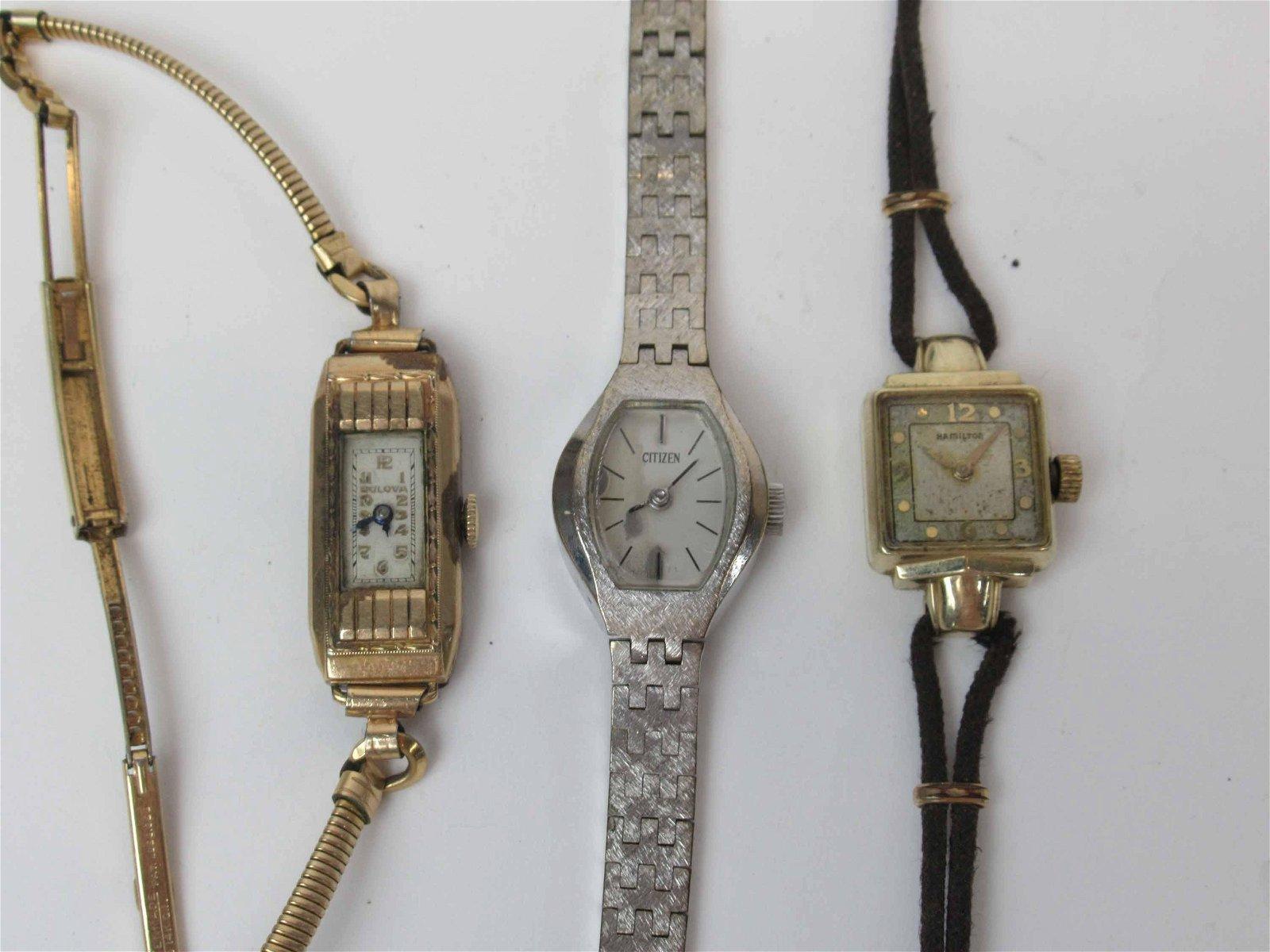 Vintage Hamilton Ladies Wrist Watch