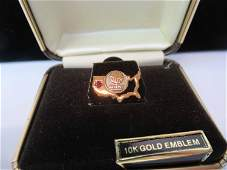 Eight 10K Gold Beverly Enterprises Pins
