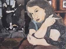 Hand Colored Engraving, De Martinez