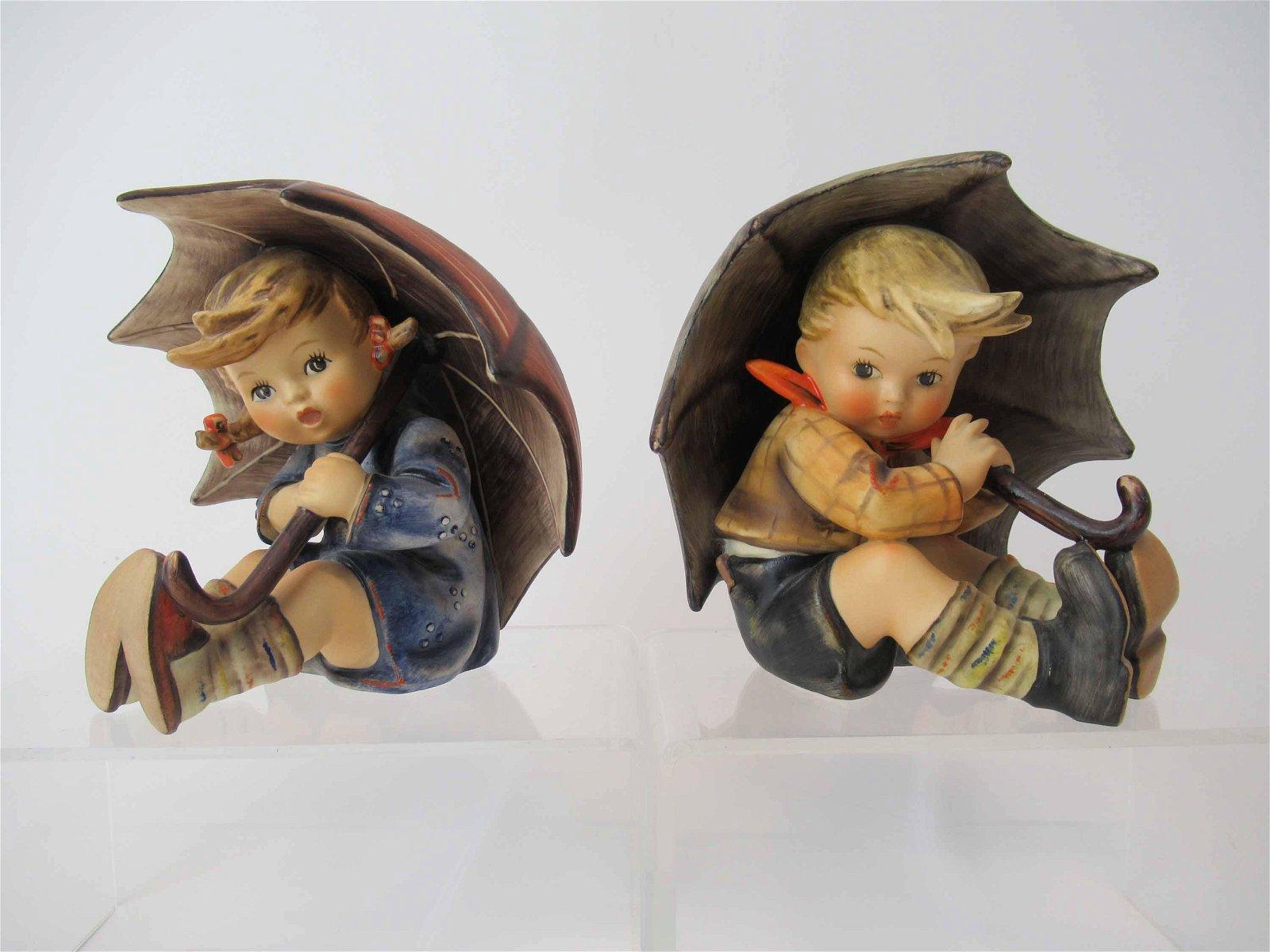 Two M. J. Hummel Goebel Figurines