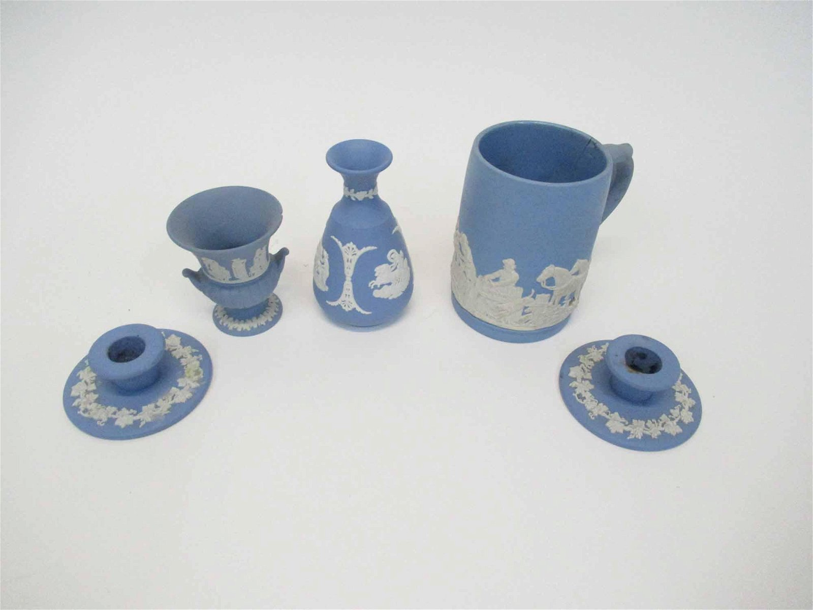 Group of Wedgwood Jasperware Table Articles