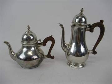 Ensko NY Sterling Silver Coffee and Teapot