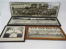 Group of Four Vintage Framed Photographs