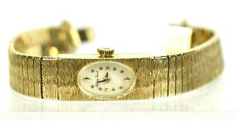 Mathey Tissot 14K Gold Ladies Wristwatch