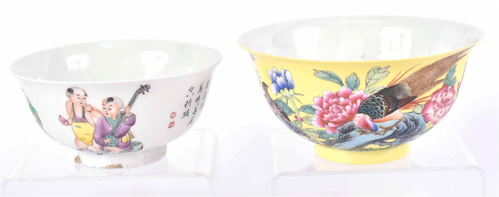Two Chinese Porcelain Bowls