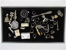 Group of Assorted Sterling Silver Jewelry