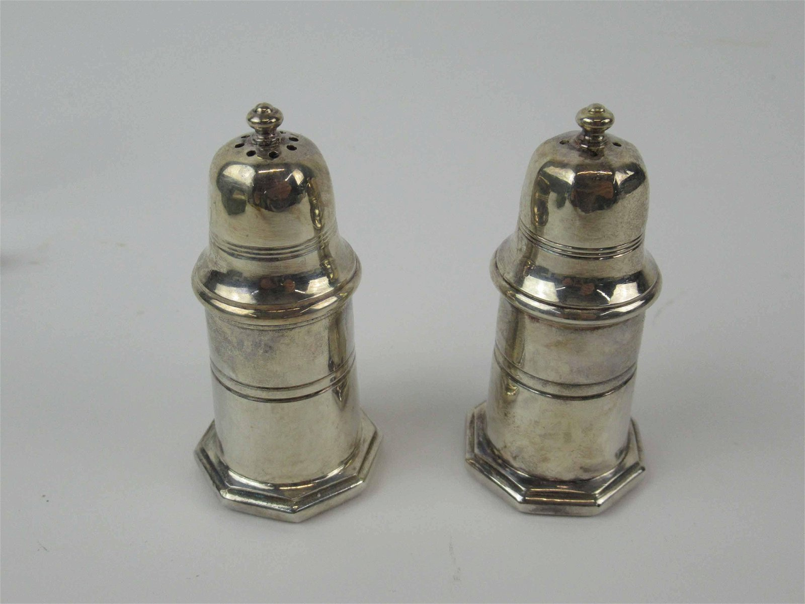 Christofle Silverplated Salt and Pepper Shakers