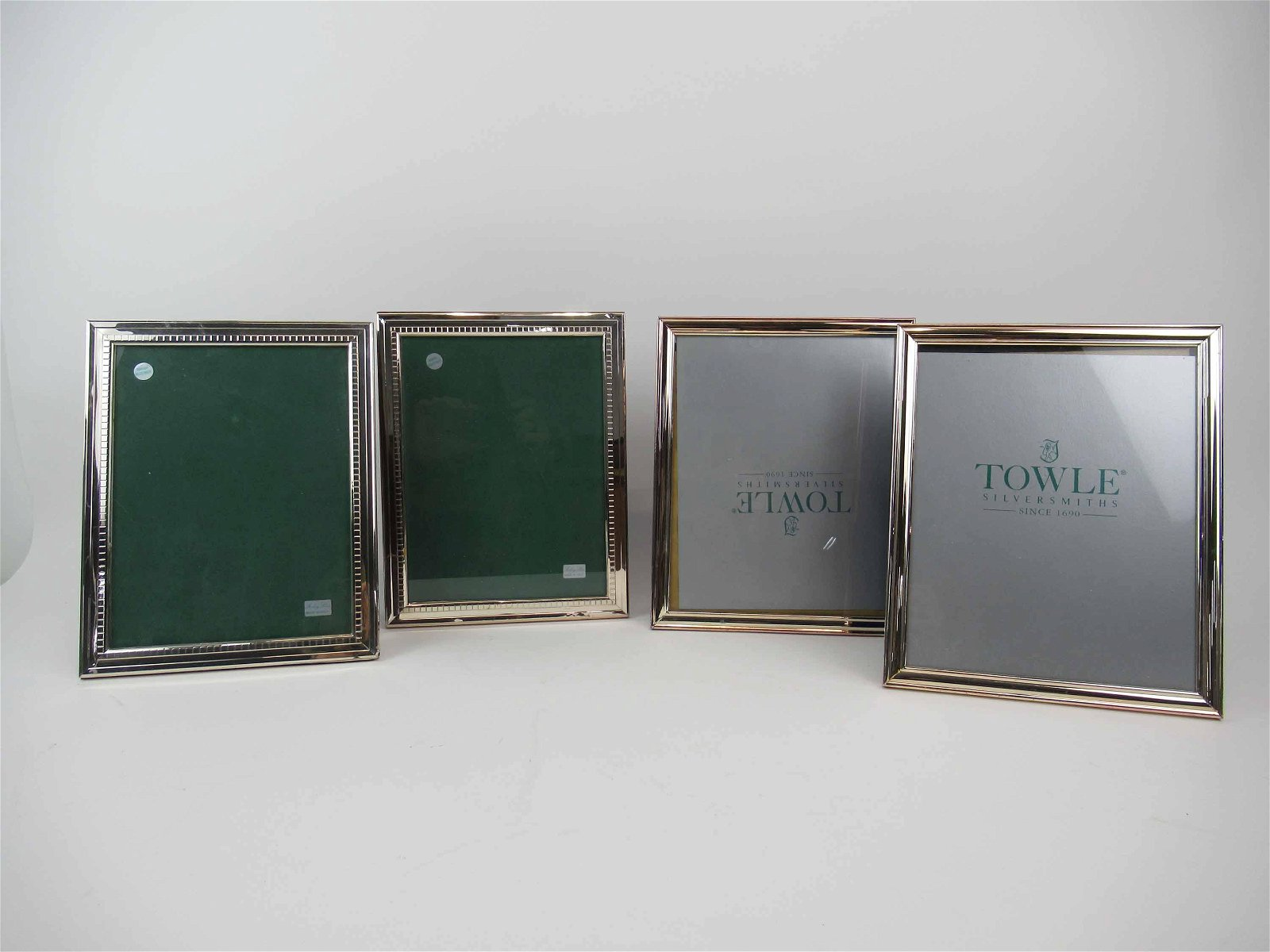 Pair of Sterling Silver Italian Picture Frames