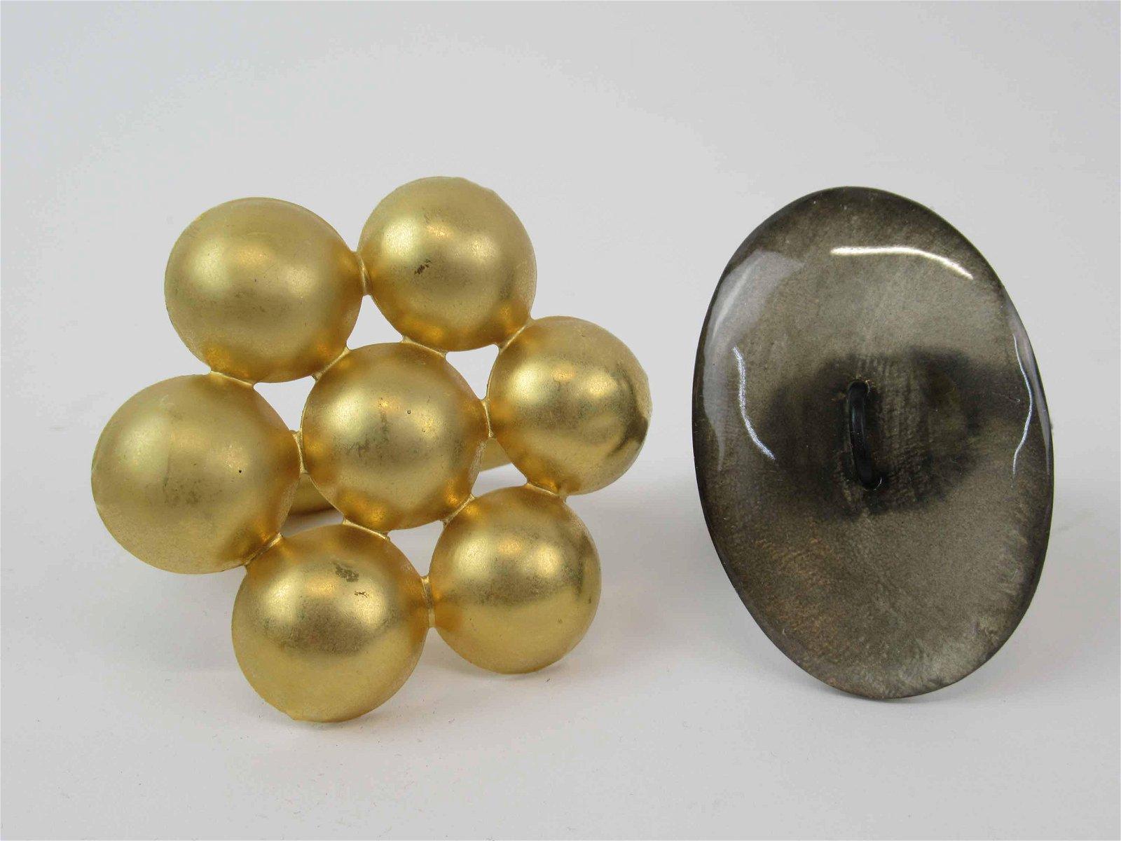 Set of Deborah Rhodes Napkin Rings