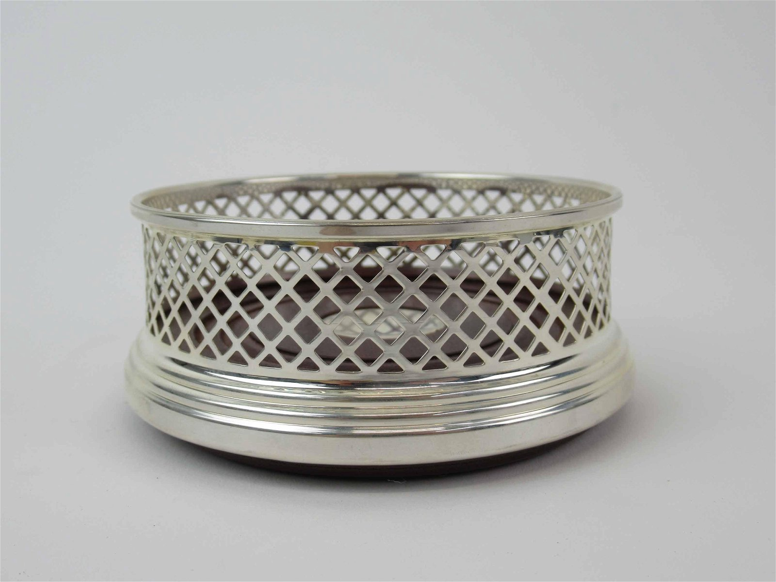Broadway and Company Sterling Silver Bottle Caddy