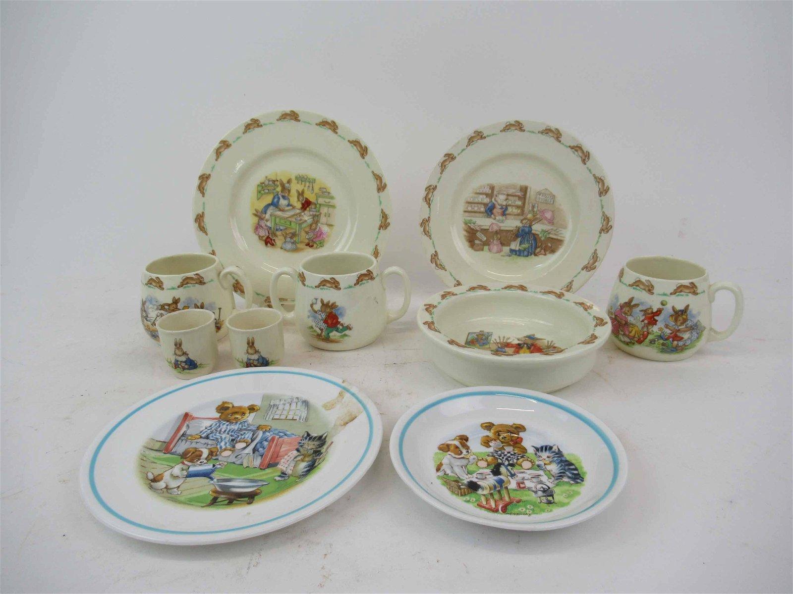 Royal Doulton Bunnykins Cereal Set