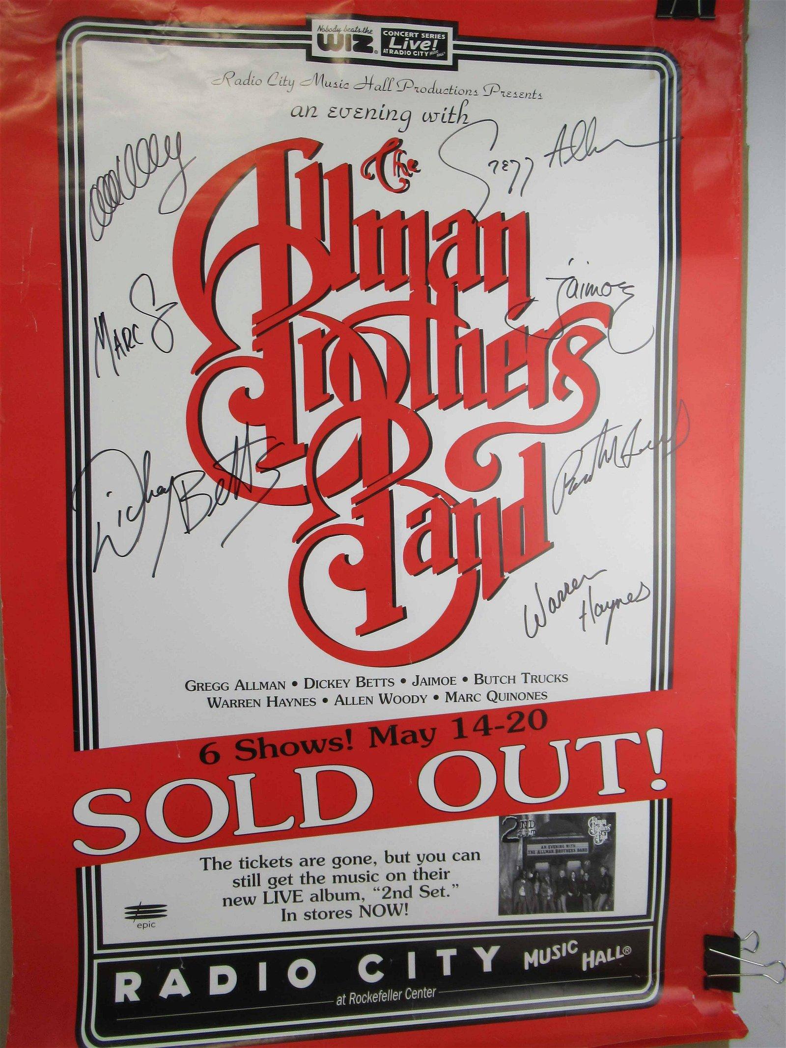 Three Radio City Music Hall Concert Posters