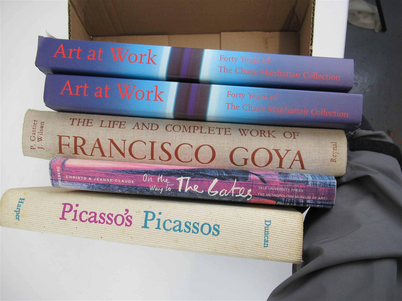 Group of Assorted Art Books