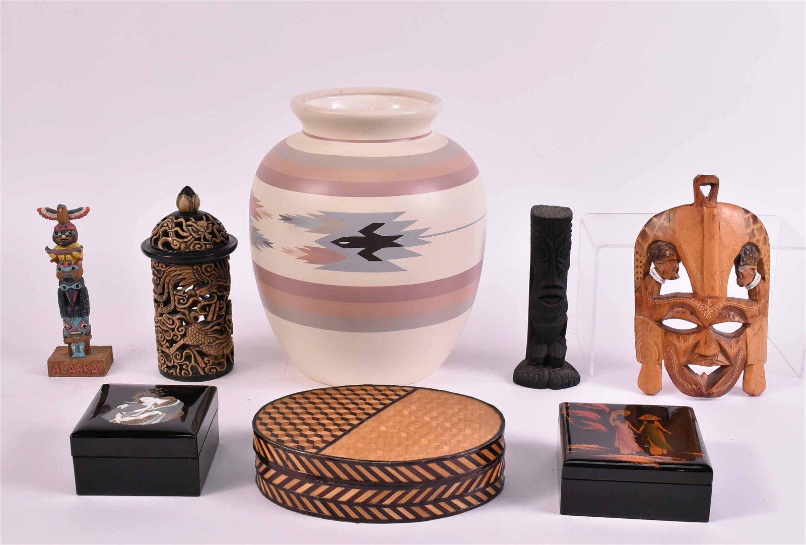 Native American Nandi Ceramic Vase
