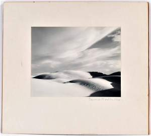 Gelatin Silver Print Dunes, Oceano, Edward Weston