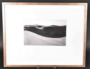 Gelatin Silver Print Dunes, Oceano, Brett Weston