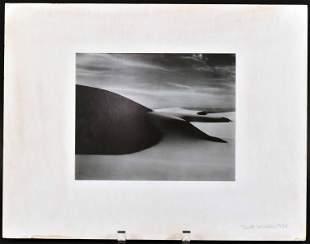 Gelatin Silver Print, Dunes, Oceano, Brett Weston