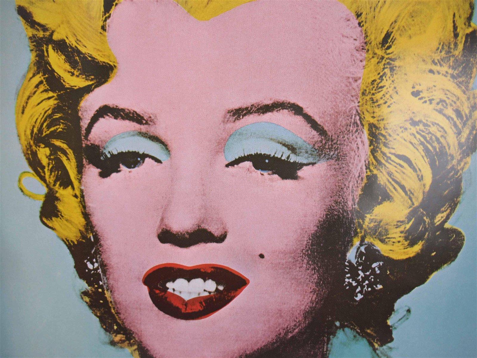 Andy Warhol Marilyn Monroe Tate Gallery Poster