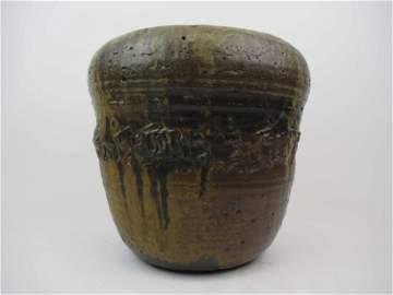 TOSHIKO TAKAEZU Rare Moon Pot Sculpture