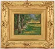 Oil on Canvas, Landscape, Addison T. Millar