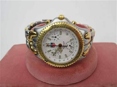 Tag Heuer Professional Two Tone Chronograph Watch