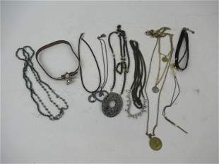 Group of Costume Jewelry Necklaces