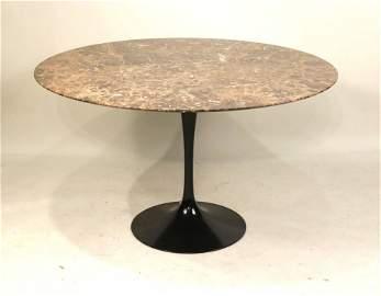 Eero Saarinen Marble Top Tulip Table