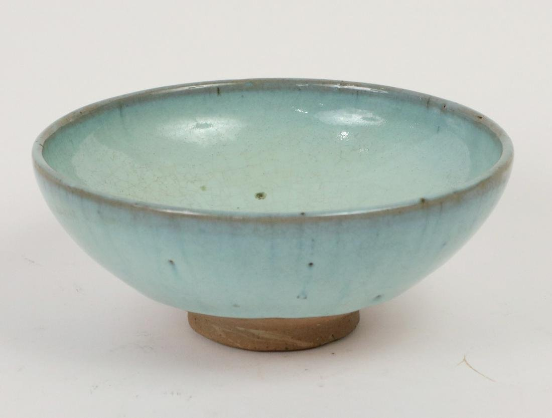Chinese Song Dynasty Jun Porcelain Blue Bowl