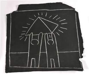 Keith Haring Untitled (Subway Drawing)