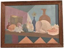 Oil on Canvas, Modern Still Life, George F. Of