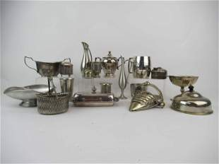 Group of Silver-Plated Table Articles
