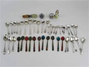 Group of Demitasse Spoons