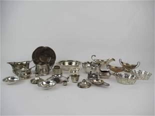 Art Nouveau Silver Plated Dish
