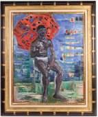 Oil on Canvas, Robert Savary