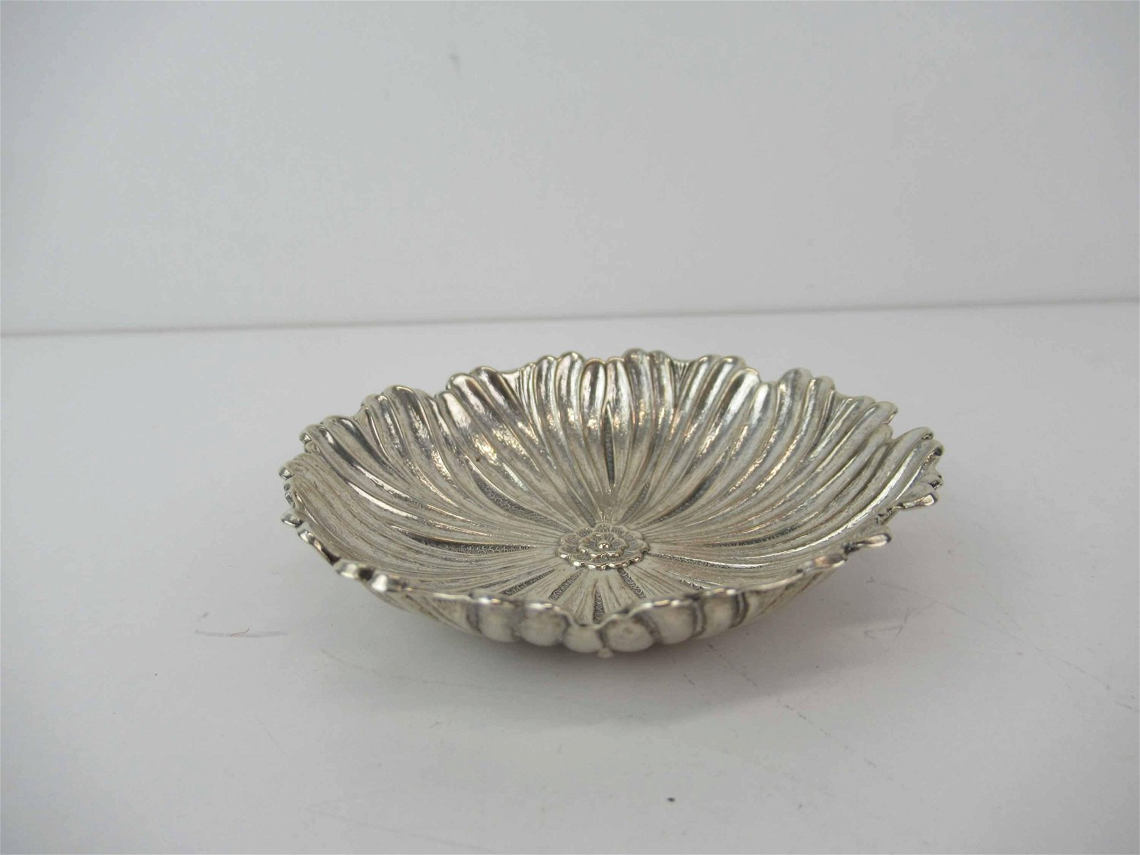 Buccellati Italy Sterling Silver Flower Dish