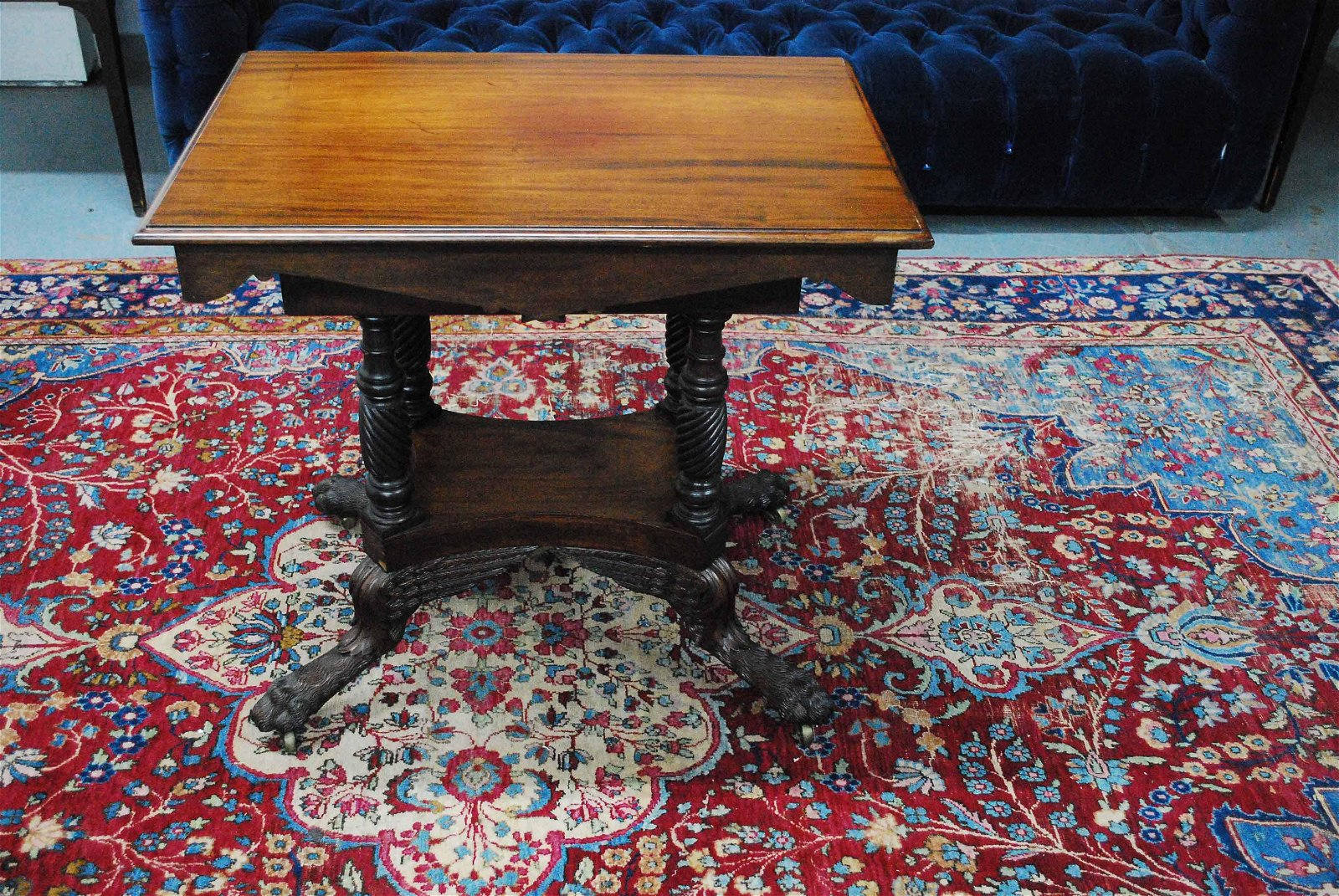 Classical Carved Mahogany Table