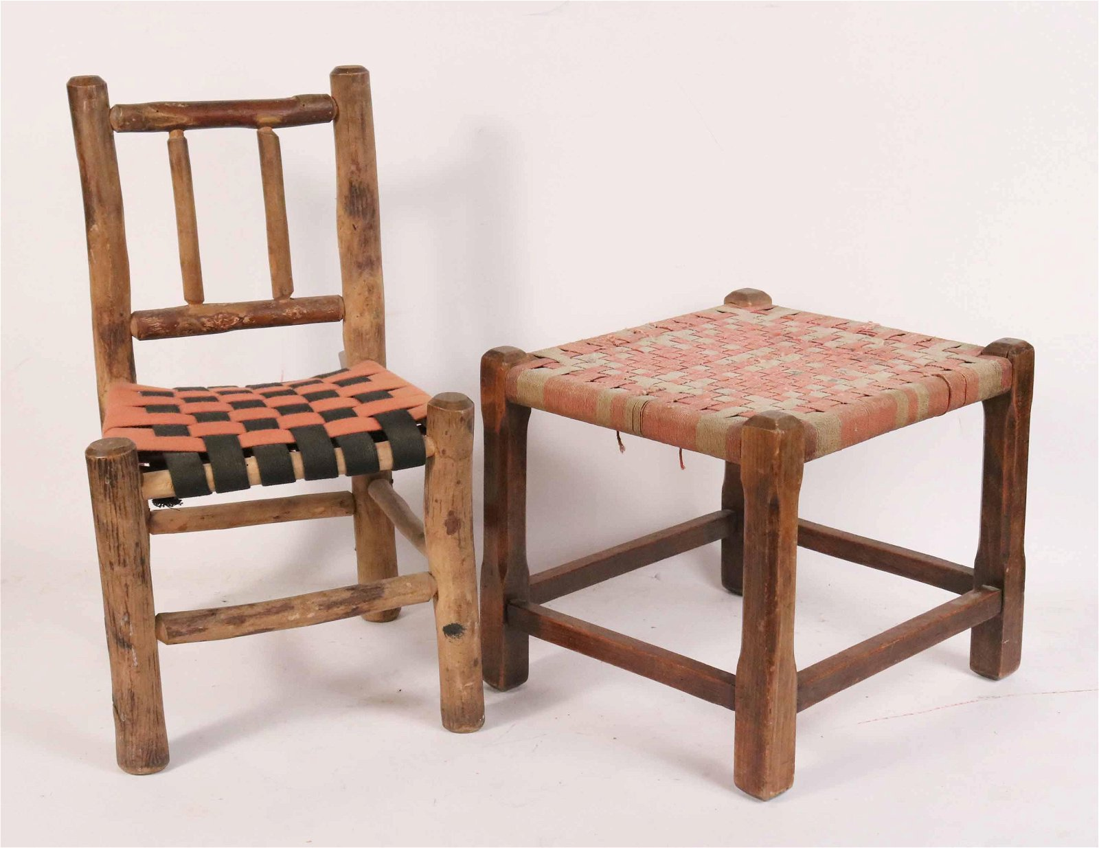 Rustic Child's Maple Side Chair