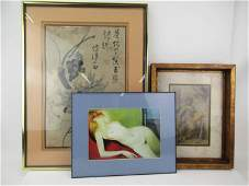 Group of Assorted Artwork