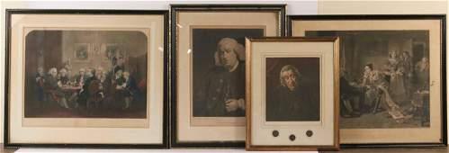 Four Engravings, Dr. Samuel Johnson