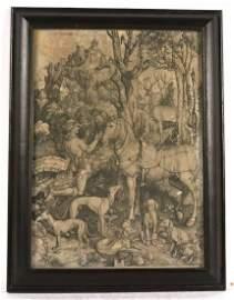 Old Master Engraving, Albrecht Durer