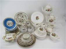 Group of Assorted Porcelain Table Articles