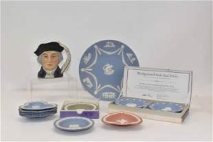 Group of Assorted Wedgwood Jasperware Plates