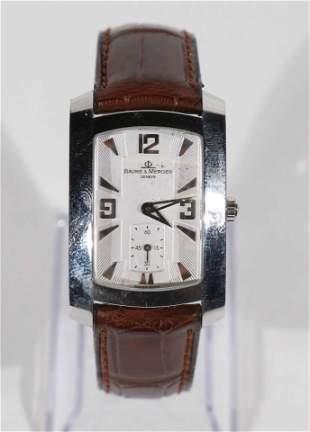 Baume Mercier Hampton Stainless Dress Watch 65310