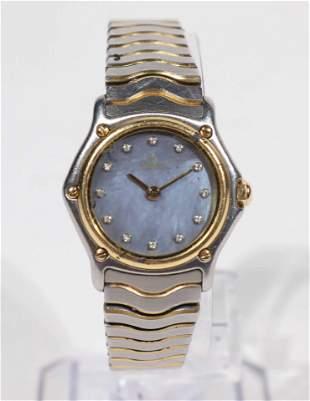 Ebel Classic Wave Diamond 1990s Ladies Watch