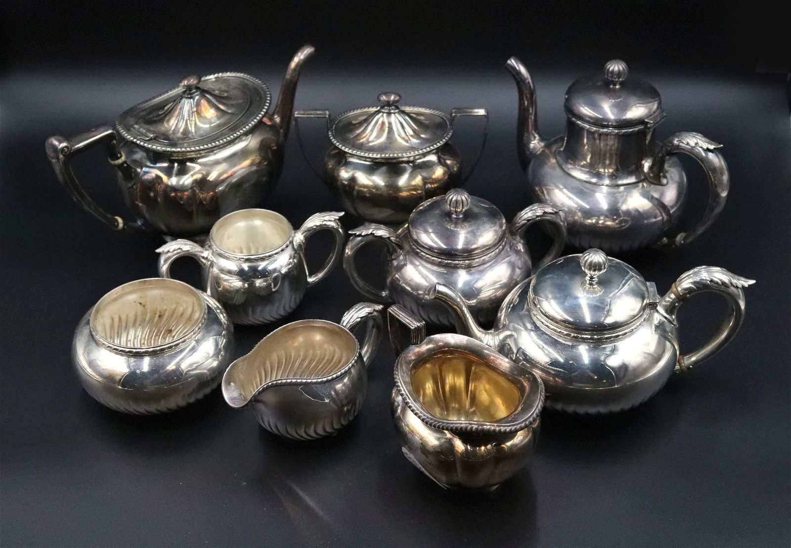 Two Gorham Silver Plated Tea Sets