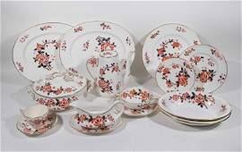 Set of Royal Crown Derby Porcelain Dinnerware