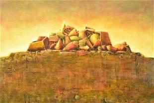 Noe Nojechowiz Oil on Canvas
