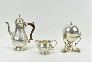 Victorian Silverplate Egg Warmer
