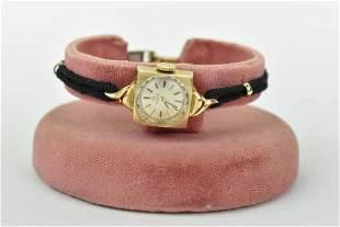 Vintage Ladies Omega 14K Gold Cocktail Watch